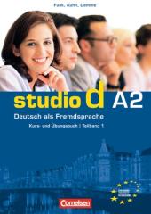 Studio d A2/1. Kurs- und Ubungsbuch mit CD. Розділи 1-6 (підручник+роб.зошит+аудіодиск) - фото обкладинки книги