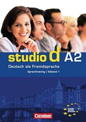 Studio d A2/1. Sprachtraining mit eingelegten Losungen (до розділі 1-6) - фото обкладинки книги