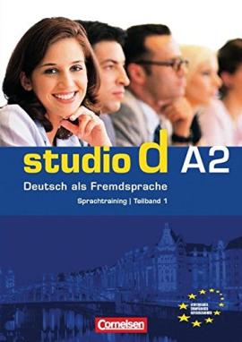 Studio d A2/1. Sprachtraining mit eingelegten Losungen (до розділі 1-6) - фото книги