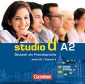Studio d A2/2. CD (до розділів 7-12) - фото обкладинки книги