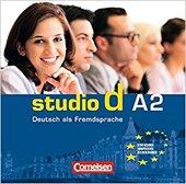 Studio d A2. Audio CDs (набір із аудіодисків) - фото обкладинки книги