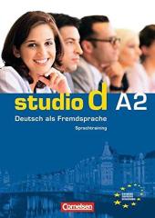 Studio d A2. Sprachtraining mit eingelegten Losungen - фото обкладинки книги