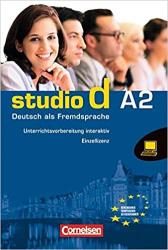 Studio d A2. Unterrichtsvorbereitung interaktiv CD-ROM (інтерактивна програма для вчителя) - фото обкладинки книги