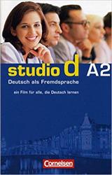 Studio d A2. Video-DVD mit Ubungsbooklet (диск із відеосюжетами+брошура із завданнями) - фото обкладинки книги