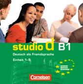 Studio d B1/1. CD (до розділів 1-5) - фото обкладинки книги