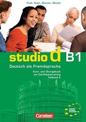 Studio d B1/2. Kurs- und Ubungsbuch mit CD. Розділи 6-10 (підручник+роб.зошит+аудіодиск) - фото обкладинки книги