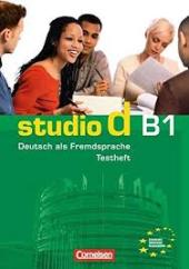 Studio d B1. Testvorbereitungsheft mit CD (тестові завдання + аудіодиск) - фото обкладинки книги