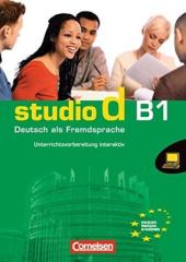 Studio d B1. Unterrichtsvorbereitung interaktiv auf CD-ROM Unterri (інтерактивна програма для вчителя) - фото обкладинки книги