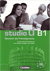 Studio d B1. Unterrichtsvorbereitung (Print) Vorschlage fur Unterrichtsablaufe, Tests und Kopie - фото обкладинки книги