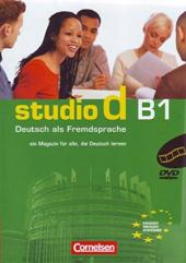 Studio d B1. Video-DVD mit Ubungsbooklet (диск + брошура із завданнями) - фото обкладинки книги