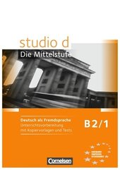 Studio d B2/1. Unterrichtsvorbereitung mit kopiervorlagen und Tests - фото обкладинки книги