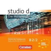 Studio d B2/2. Audio CD - фото обкладинки книги