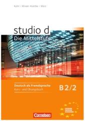 Studio d B2/2. Kurs- und Ubungsbuch mit CD (підручник+роб.зошит+аудіодиск) - фото обкладинки книги