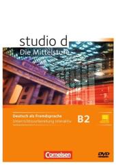 Studio d B2. Unterrichtsvorbereitung interaktiv auf CD-ROM (диск із програмним забезпеченням) - фото обкладинки книги