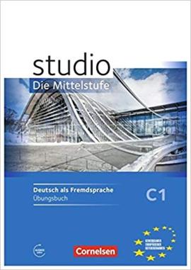 Studio d C1 Die Mittelstufe. Arbeitsheft mit Audios online - фото книги