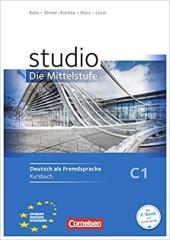 Studio d C1 Die Mittelstufe. Kursbuch - фото обкладинки книги