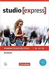Studio express A1-B1. Kursbuch mit Audios online - фото обкладинки книги