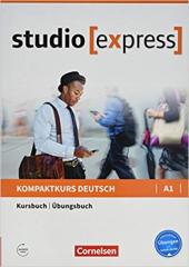 Studio express A1. Kurs- und bungsbuch (підручник + роб.зошит) - фото обкладинки книги