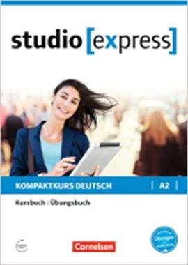 Studio express A2. Kurs- und bungsbuch (підручник + роб.зошит) - фото книги