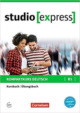 Studio express B1. Kurs- und bungsbuch (підручник + роб.зошит) - фото книги