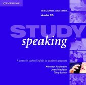 Study Speaking 2nd edition. Audio CD: A Course in Spoken English for Academic Purposes - фото обкладинки книги