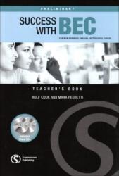 Success with BEC Preliminary - Teacher's Book - фото обкладинки книги