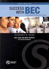Success with BEC Preliminary : The New Business English Certificates Course - фото обкладинки книги