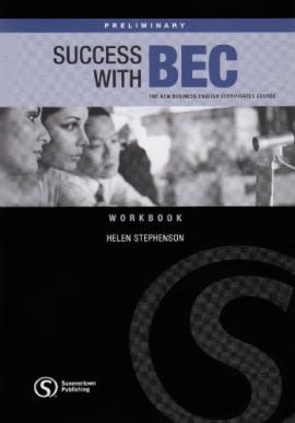 Success wtih BEC Preliminary - Workbook without Key - фото книги
