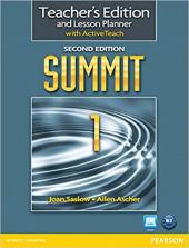 Summit 1 Split 2 Edition. Teacher's Edition with Active Teach (книга вчителя + інтерактивний курс) - фото обкладинки книги