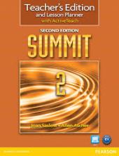 Summit 2 Split 2 Edition. Teacher's Edition with Active Teach (книга вчителя + інтерактивний курс) - фото обкладинки книги