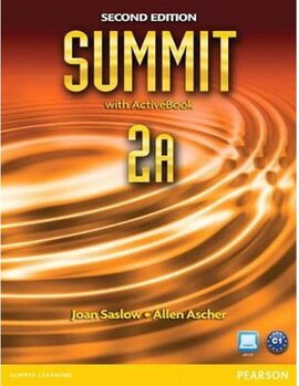 Summit 2A Split 2 Edition. Students Book +ActiveBook+Workbook (підручник+робочий зошит) - фото книги