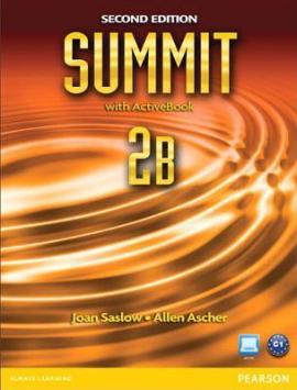 Summit 2B Split 2 Edition. Students Book +ActiveBook+Workbook (підручник+робочий зошит) - фото книги