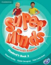 Super Minds American English Level 3. Student's Book with DVD-ROM - фото обкладинки книги
