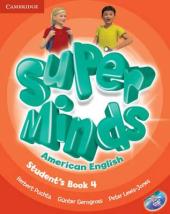 Super Minds American English Level 4. Student's Book with DVD-ROM - фото обкладинки книги