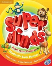 Super Minds American English Starter Student's Book - фото обкладинки книги