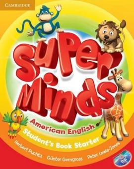 Super Minds American English Starter Student's Book - фото книги