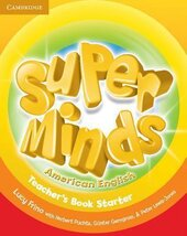 Super Minds American English Starter Teacher's Book - фото обкладинки книги