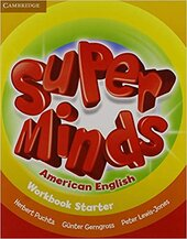 Super Minds American English Starter Workbook - фото обкладинки книги