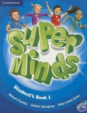 Super Minds Level 1 Student's Book with DVD-ROM - фото обкладинки книги