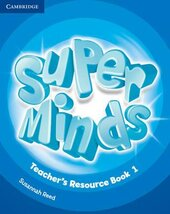 Книга для вчителя Super Minds Level 1 Teacher's Resource Book with Audio CD