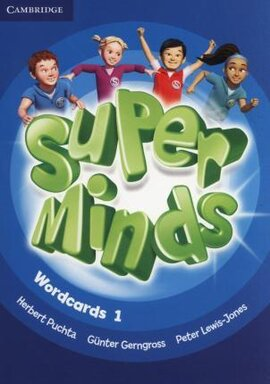 Super Minds Level 1 Wordcards (Pack of 81) - фото книги