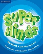 Super Minds Level 1 Workbook with Online Resources - фото обкладинки книги