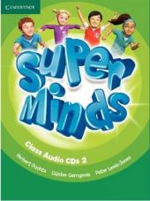 Super Minds Level 2 Class Audio CDs (3) - фото обкладинки книги