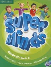 Super Minds Level 2 Student's Book with DVD-ROM - фото обкладинки книги