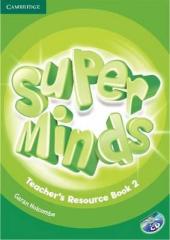 Super Minds Level 2 Teacher's Resource Book with Audio CD - фото обкладинки книги