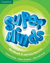Super Minds Level 2 Workbook with Online Resources - фото обкладинки книги