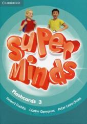 Super Minds Level 3 Flashcards (Pack of 83) - фото обкладинки книги
