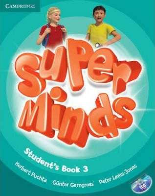 Підручник Super Minds Level 3 Student's Book with DVD-ROM