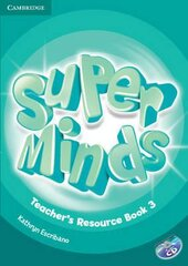 Книга для вчителя Super Minds Level 3 Teacher's Resource Book with Audio CD