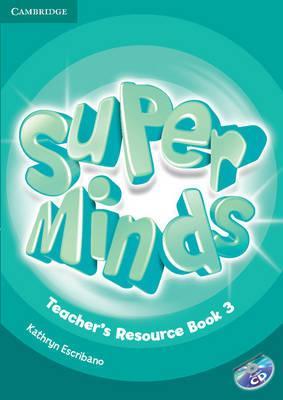Книга для вчителя Super Minds Level 3 Teacher's Resource Book with Audio CD